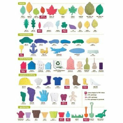 Custom Shape Options for Printed Seed Paper