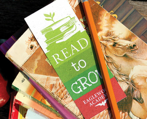 Plantable Seed Paper Bookmarks
