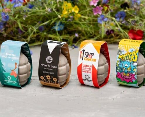SeedBom - Plantable Promotional Product
