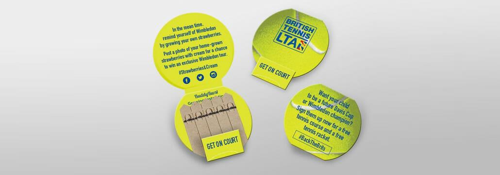British Lawn Tennis Association Seedsticks