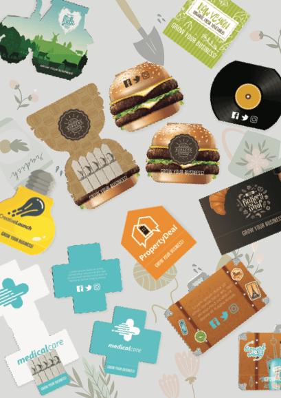 Seedstick Shapes Packs - Promotional Seeds