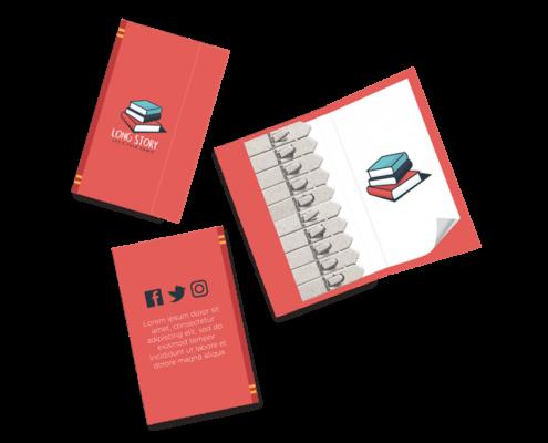 Book Seedstick Shape Packs