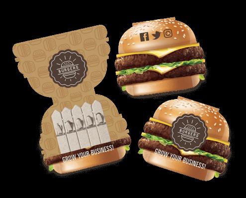 Burger Seedstick Shapes