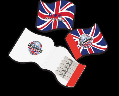 Flag Shaped Seedstick Pack