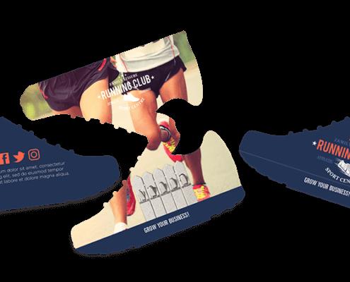 Trainer Shoe Seedstick Shapes