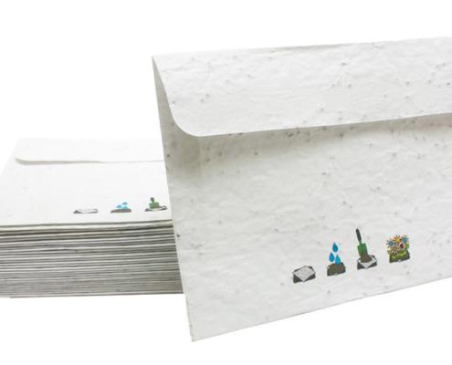 Seed Paper Custom Envelopes