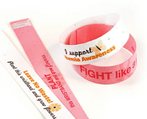 seeded wristbands from sow easy