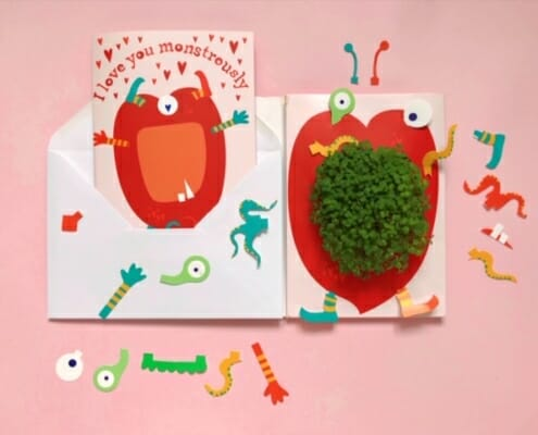 Growing Greeting Card - Valentine's Day