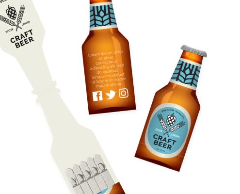 Drinks - Bottle Seedstick Shapes