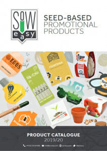 Sow Easy Product Catalogue Cover - Trade Onlly